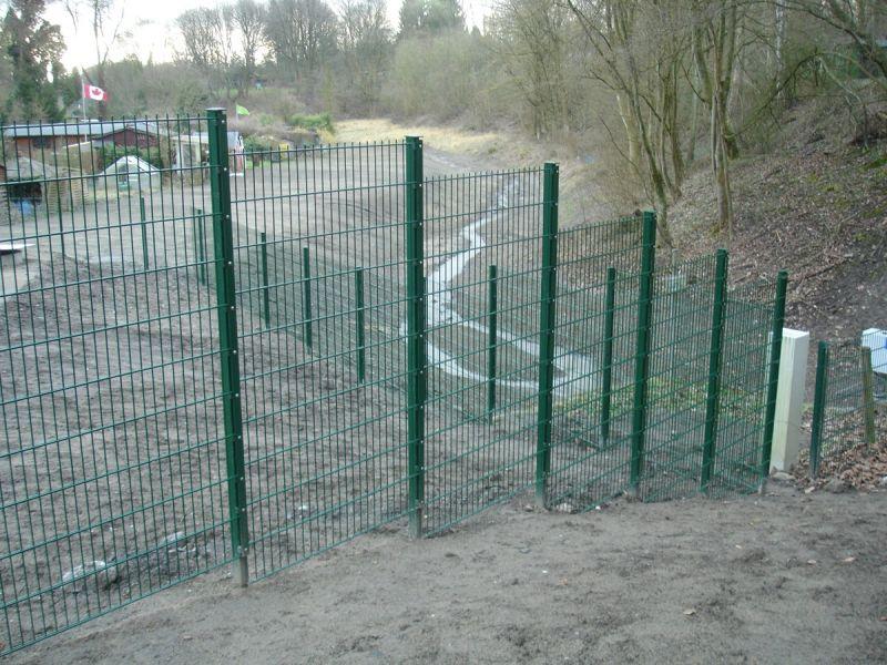 Stahlmattenzäune Hfm Scheffer Zaunanlagen Toranlagen Gartentüren